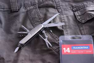 Tramontina Pocketknife 14 functions