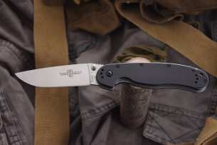 Ontario Нож складной RAT-1 Limited Edition Satin Blade 8867CF