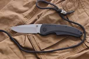Schrade Large Drop Point Folder
