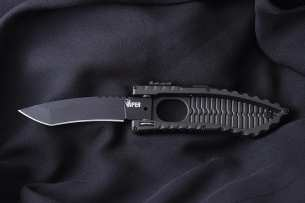 Schrade Viper Side Opening Assist Tanto Black