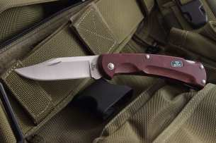 Buck EcoLite Red 112 Paperstone Handle 0112RDS1-B