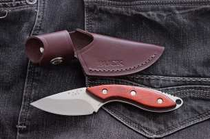 Buck Mini Alpha Hunter Rosewood 0196RWS-B