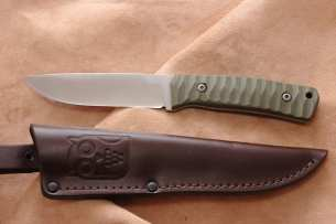 Owl Knife BARN F N690 Олива