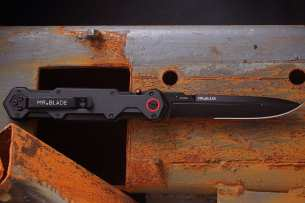 Mr.Blade Ferat Black Serrated