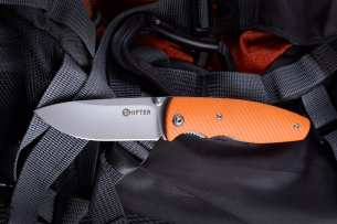 Mr.Blade Zipper Bright Orange