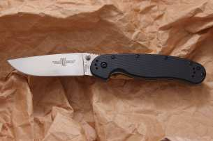 Ontario Нож складной RAT-1 Limited Edition Satin Blade Black Handle D2 8867