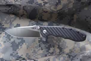 Zero Tolerance Hinderer Slicer Carbon Fiber