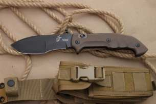 Fox Fox FKMD Meskwaki Tracker Black DLC-Coating Blade