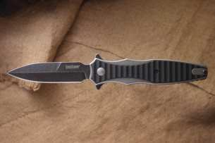 Kershaw Rick Hinderer Design Decimus Flipper BlackWash