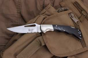 Lion Steel Classici Black Micarta Handle