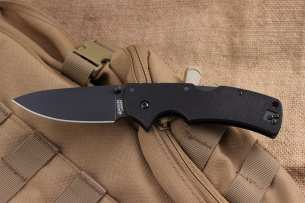Cold Steel American Lawman, Black DLC-Coated Crucible CPM
