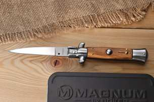 Magnum by Boker Sicilian Needle Olive Wood