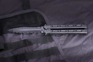 Cold Steel FGX Balisong Tanto - нож пластиковый
