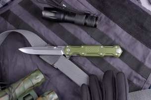Mr.Blade Green Cosmo Satin