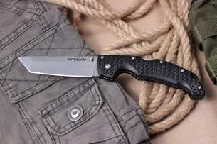 Cold Steel  Voyager Tanto 4 Plain Edge